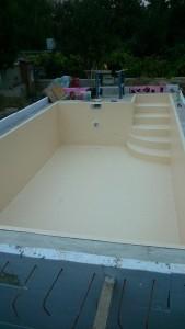 montaz bazena Vieden po dokonceni